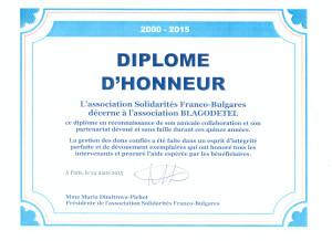 Diplome Honneur Blagodetel 001